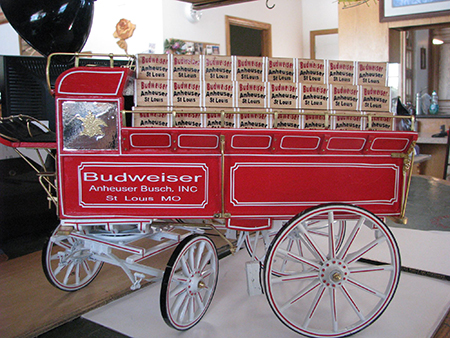 budweiser hitch wagon